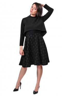 Платье с накидкой Christian Dior