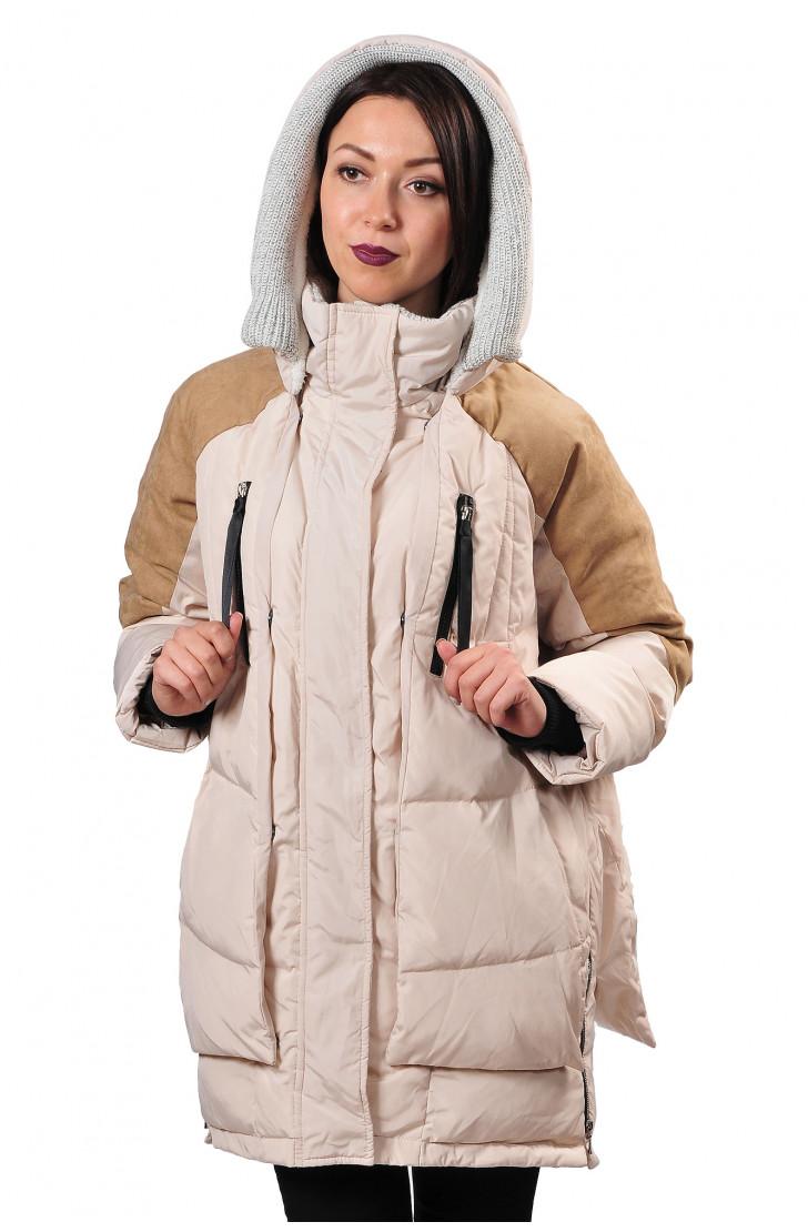 Пуховая куртка Miss Fofo